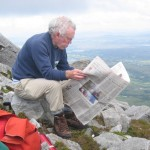 An Irish Times lunch break on Muckish.