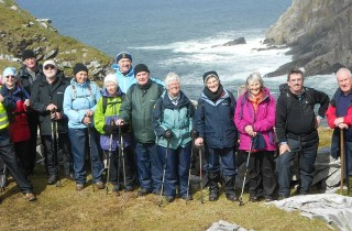 Edward Lhuyd group at Horn Head